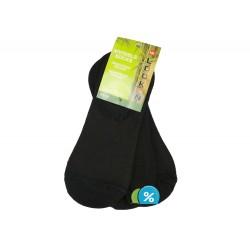 Podkotníkové bambusové ponožky ZTY-B35103 - 3 páry - LOOKeN DAMEN