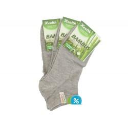 Pánské bambusové kotníkové ponožky ZHM7000D - 3 páry -  Ellasun