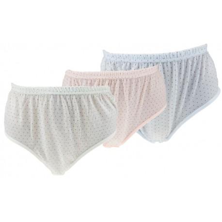 Dámské klasické bavlněné kalhotky 8311 - 1 ks - Pesail