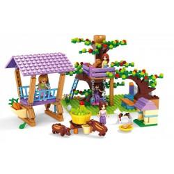 Stavebnice pro dívky - stromové hry - 413 dílků - AUSINI