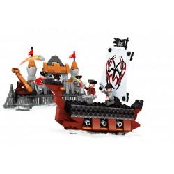 Stavebnice - pirátská loď - 262 dílků - AUSINI