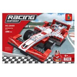Stavebnice - velká závodní formule - 195 dílků - AUSINI