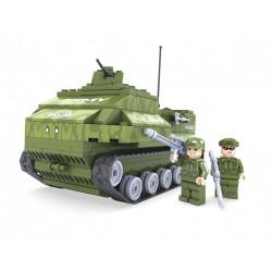 Stavebnice - armádní tank - 199 dílků - AUSINI