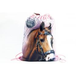 Taška na tělocvik a přezůvky - Nice and Pretty - kůň