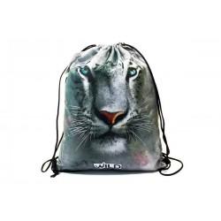 Taška na tělocvik a přezůvky - Bílý Tygr - BENIAMIN