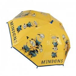 Dětský deštník - Mimoni - žlutý