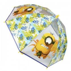 Průhledný deštník - Mimoni Bananas