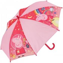 Vystřelovací deštník - Prasátko Pepina - růžový