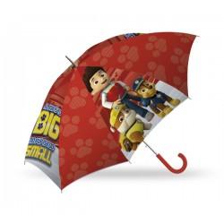 Deštník - Tlapková Patrola - červený - Euroswan