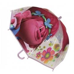 Průhledný deštník - Trollové Poppy