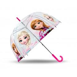 Průhledný deštník - Ledové Království Anna a Elsa