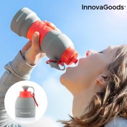 Skládací silikonová lahev na pití - 580 ml - InnovaGoods