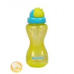 Sportovní lahev na pití s brčkem - Akuku - 360 ml