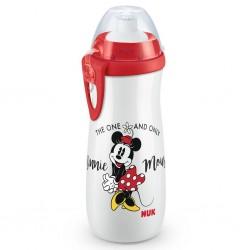 Dětská lahev na pití - Disney Mickey - 450 ml - červená