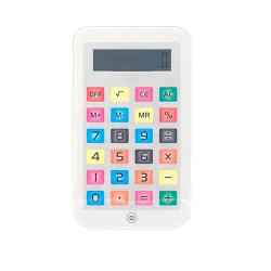 Malá kalkulačka - iTablet - bílá