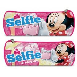 Kulatý penál - Minnie Selfie