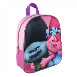 Dětský batoh - 3D Trollové Poppy a Větvík