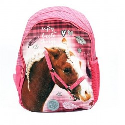 Dětský batůžek - Nice and Pretty - růžový koník