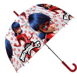 Průhledný dětský deštník - Kouzelná Beruška