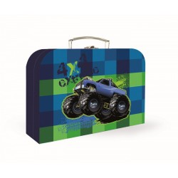 Kufřík na výtvarku - Monstertruck - velký