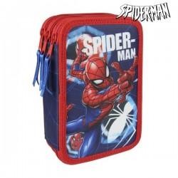 Třípatrový penál s vybavením - Spiderman 3561
