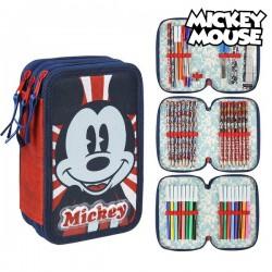Třípatrový penál s vybavením - Mickey Mouse 78605