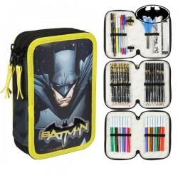 Třípatrový penál s vybavením - Batman 78667