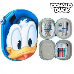 Trojitý penál s vybavením - Kačer Donald Disney 78841