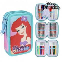 Třípatrový penál s vybavením - Princesses Disney 78698