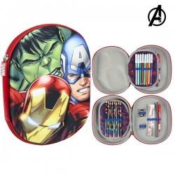 Trojitý penál s vybavením - The Avengers 78889