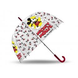 Průhledný deštník - Mickey klasik