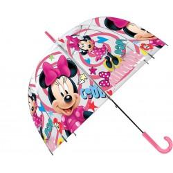 Průhledný dětský deštník - Minnie