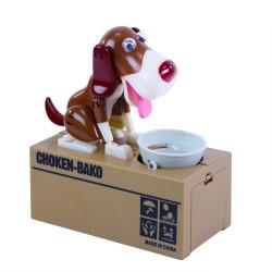 Pokladnička - hladový pes