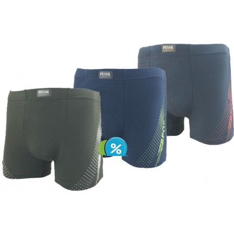 Bambusové boxerky M0260 -  Pesail - 1 ks