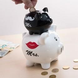 Pokladnička - prasátka Mr & Mrs