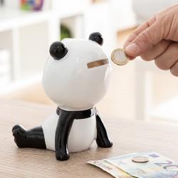 Keramická pokladnička - medvídek Panda