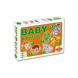 Dětské puzzle - 6 obrázků
