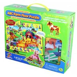 Podlahové puzzle - Zvířátka - 48 dílků