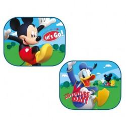 Sluneční clona do auta - Mickey a Donald - 2 ks
