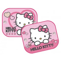 Sluneční clona do auta - Hello Kitty - 2 ks