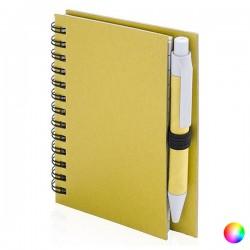 Minispirálový zápisník s perem