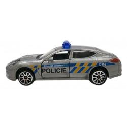 Kovové policejní auto - česká verze