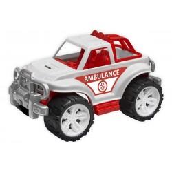 Plastové autíčko - ambulance SUV