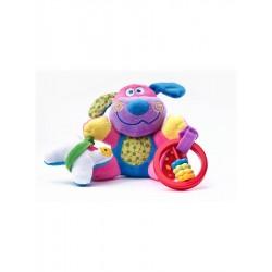 Naučná plyšová hračka - pejsek s vibrací a chrastítkem - Sensillo