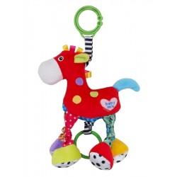 Dětská plyšová hračka s vibrací - koník - Baby Mix