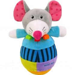 Dětská kývací hračka - myš - Baby Mix
