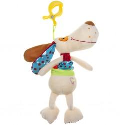 Dětská plyšová hračka s hracím strojkem - pejsek - Akuku