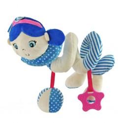 Dětská spirálová hračka na postýlku - námořník - Baby Mix