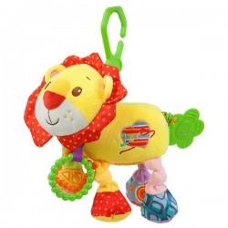 Dětská plyšová hračka s vibracemi - lev - Nenikos