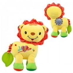 Měkká hračka pro děti - lev žlutý - Nenikos